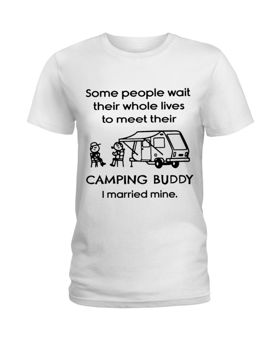 I married mine Ladies T-Shirt