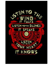 LISTEN TO THE WIND -  MANGO EXCLUSIVE T-SHIRT 11x17 Poster thumbnail
