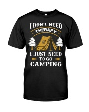 Go Camping Classic T-Shirt front
