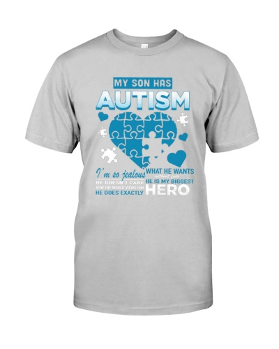 My son has Autism shirt