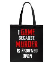 I Game Tote Bag thumbnail