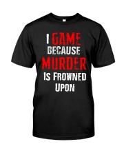 I Game Classic T-Shirt thumbnail