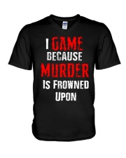 I Game V-Neck T-Shirt thumbnail