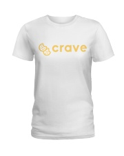 Crave Cookie Shirts Ladies T-Shirt thumbnail