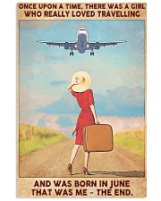 June Girl-Travelling 11x17 Poster front
