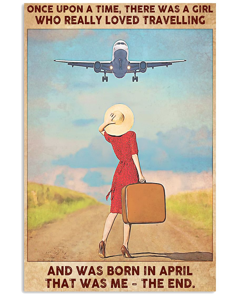 April Girl-Travelling 11x17 Poster