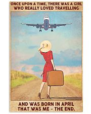 April Girl-Travelling 11x17 Poster front