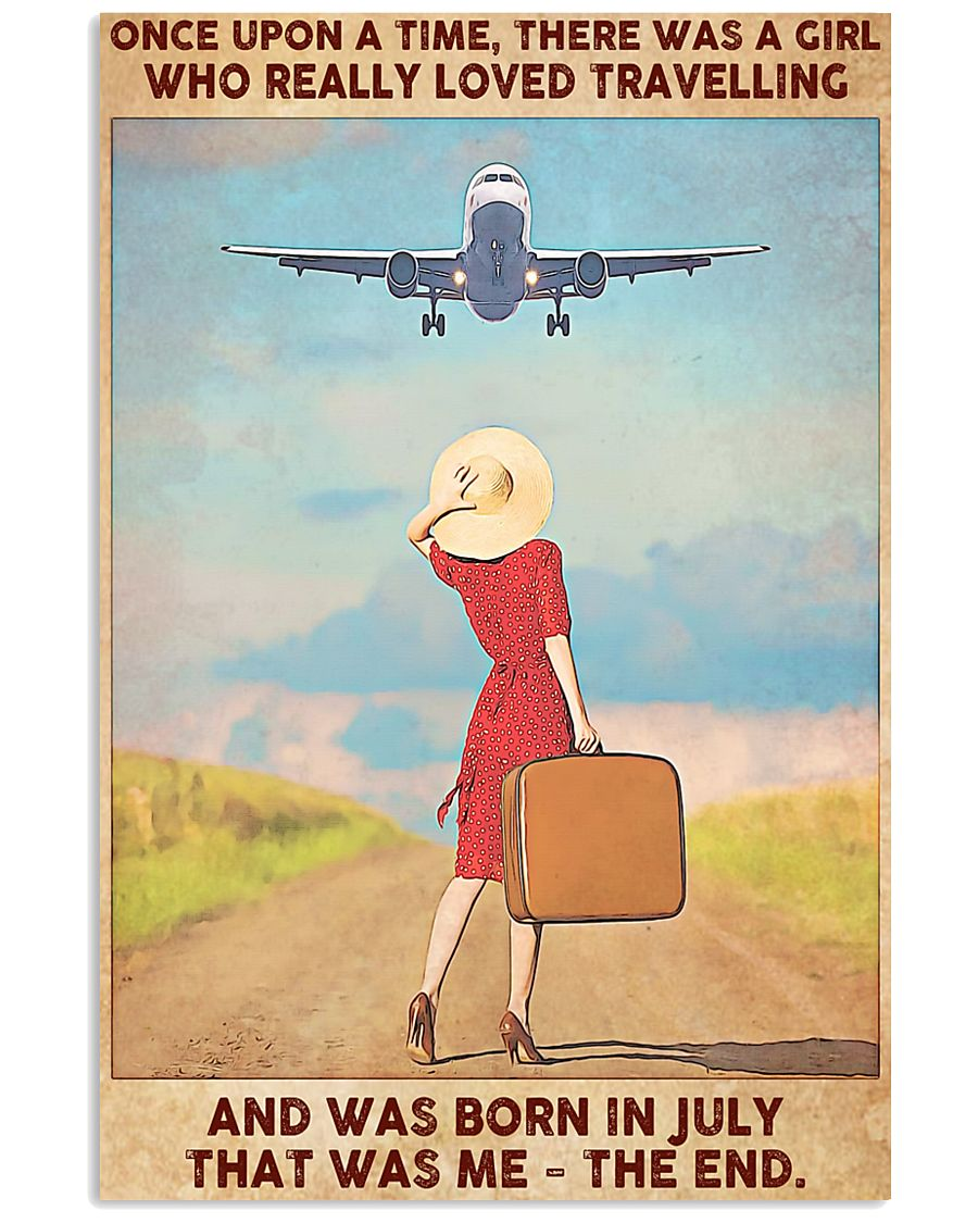 July Girl-Travelling 11x17 Poster