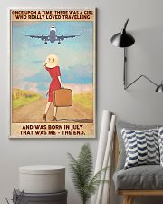 July Girl-Travelling 11x17 Poster lifestyle-poster-1
