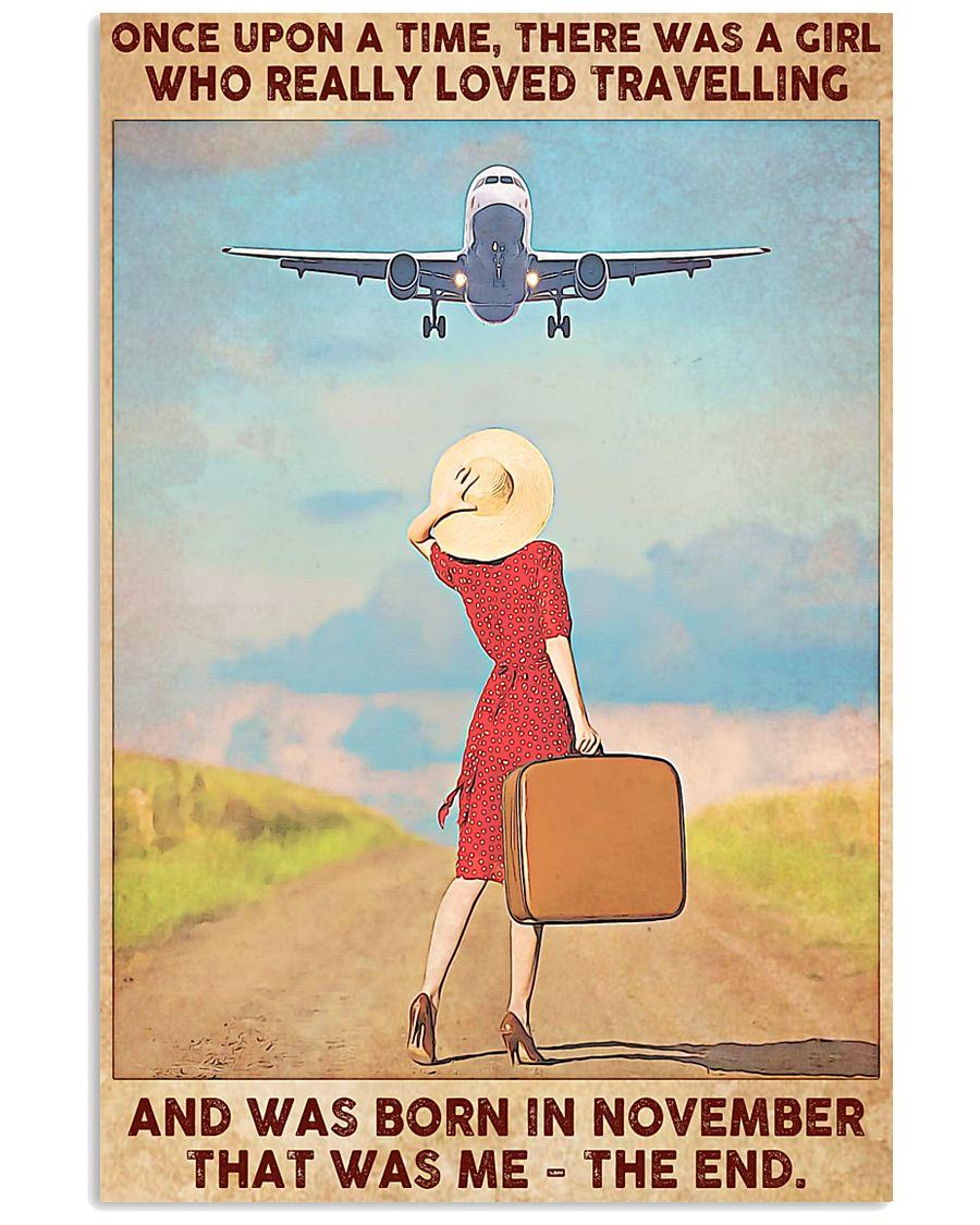 November Girl-Travelling 11x17 Poster