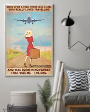 November Girl-Travelling 11x17 Poster lifestyle-poster-1