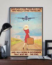 November Girl-Travelling 11x17 Poster lifestyle-poster-2