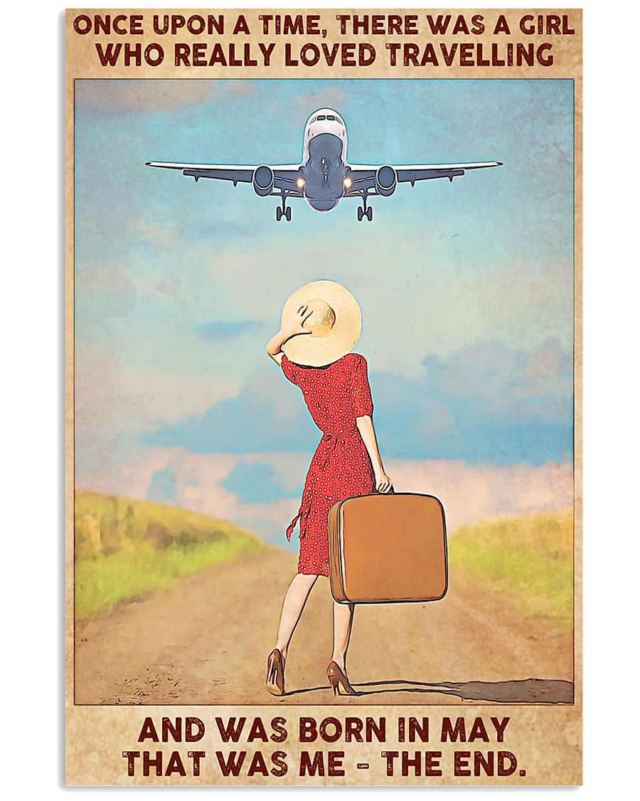 May Girl-Travelling 11x17 Poster