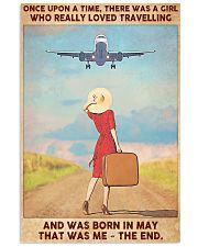 May Girl-Travelling 11x17 Poster front