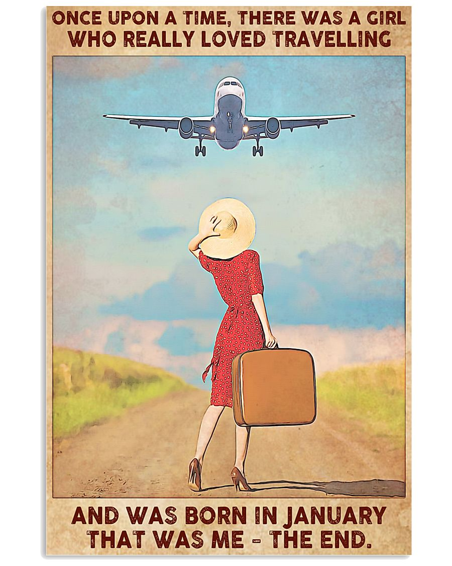 Travelling Girl-January 11x17 Poster