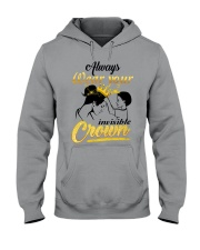 always-wear-your-invisible-crown Hooded Sweatshirt thumbnail