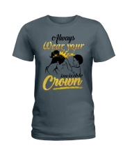 always-wear-your-invisible-crown Ladies T-Shirt thumbnail