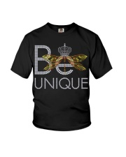 Be Unique-queen of dragonfly Youth T-Shirt thumbnail