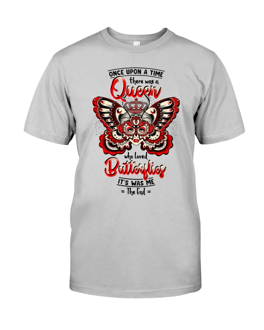 Once-upon-a-time-queen-butterfly Classic T-Shirt