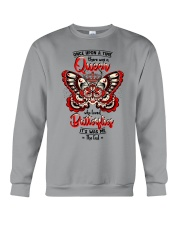 Once-upon-a-time-queen-butterfly Crewneck Sweatshirt thumbnail