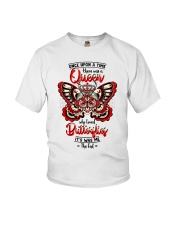 Once-upon-a-time-queen-butterfly Youth T-Shirt thumbnail
