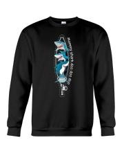 mommy-shark Crewneck Sweatshirt thumbnail