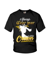 always wear your invisible crown Youth T-Shirt thumbnail