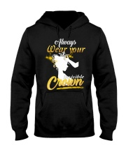 always wear your invisible crown Hooded Sweatshirt thumbnail