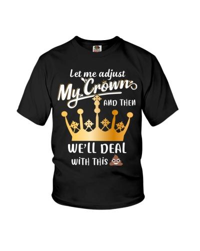 Let me adjust my crown