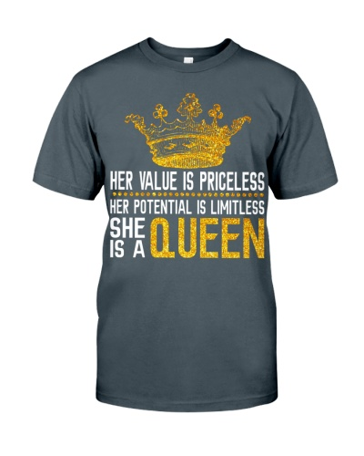 Her value is priceless