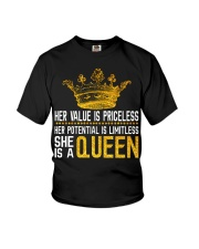 Her value is priceless Youth T-Shirt tile