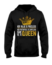 Her value is priceless Hooded Sweatshirt thumbnail