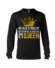 Her value is priceless Long Sleeve Tee thumbnail