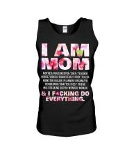 I am mom and i fcking do everything Unisex Tank thumbnail