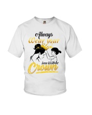 always-wear-your-invisible-crown Youth T-Shirt thumbnail