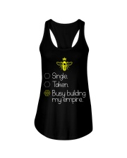 Single taken busy building my empire Ladies Flowy Tank thumbnail