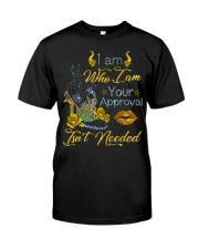 I am who I am your approval isn't needed Classic T-Shirt front