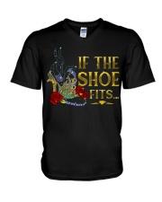 If the shoe fits V-Neck T-Shirt thumbnail