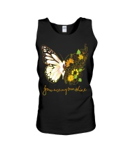 Butterfly-you-are-my-sunshine Unisex Tank thumbnail