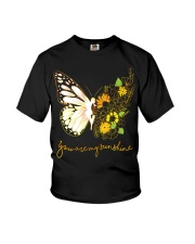 Butterfly-you-are-my-sunshine Youth T-Shirt thumbnail