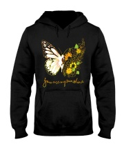 Butterfly-you-are-my-sunshine Hooded Sweatshirt thumbnail