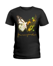 Butterfly-you-are-my-sunshine Ladies T-Shirt thumbnail