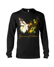 Butterfly-you-are-my-sunshine Long Sleeve Tee thumbnail