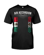 Air Accordion T Shirt Cinco De Mayo Mexican Flag F Classic T-Shirt front