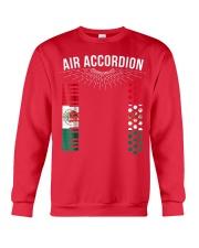 Air Accordion T Shirt Cinco De Mayo Mexican Flag F Crewneck Sweatshirt thumbnail