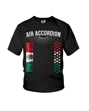 Air Accordion T Shirt Cinco De Mayo Mexican Flag F Youth T-Shirt tile