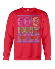 80S Style Neon Party T Shirt 80S Party Outfits 80S Crewneck Sweatshirt thumbnail