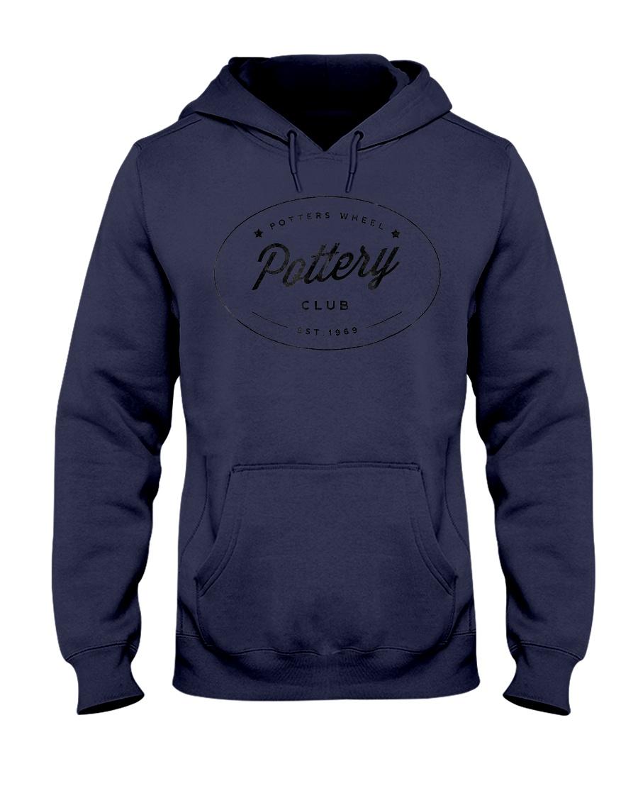 Potters Wheel Pottery Club TShirt Hooded Sweatshirt