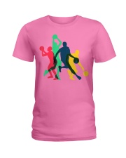 Vintage Basketball T-shirt Gifts fo Ladies T-Shirt front