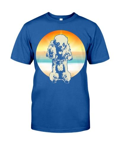 Poodle Retro Style T-Shirt Gift Idea 4